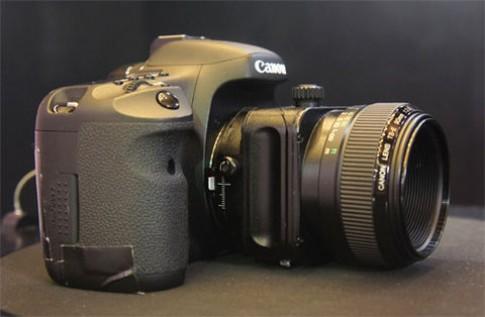 Các ống kính tilt-shift của Canon