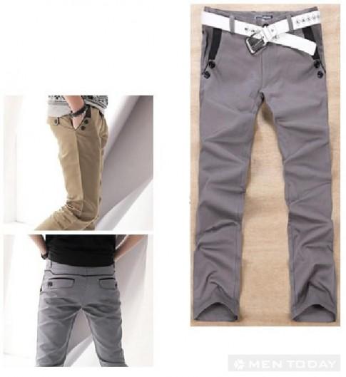 Cách chọn quần kaki nam
