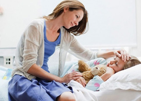 Cách lau mát hạ sốt cho trẻ