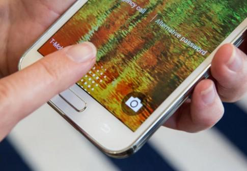 Cảm biến vân tay trên Galaxy S5 đã bị vượt qua
