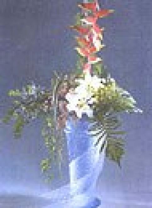 Cắm hoa theo chủ đề Tiếu ngạo giang hồ