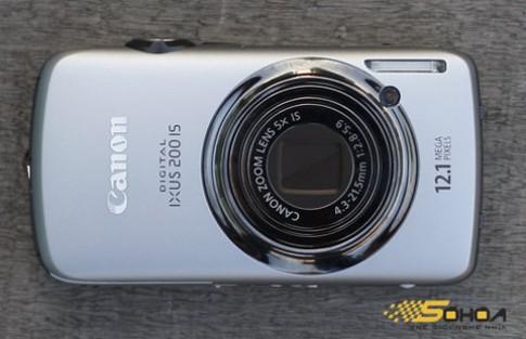 Camera cảm ứng đầu tiên của Canon