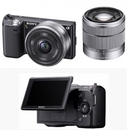 Camera không gương lật của Sony giá 320 USD