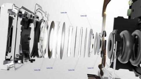 Camera 'khủng'với hệ thống 6 thấu kínhtrênLumia 925
