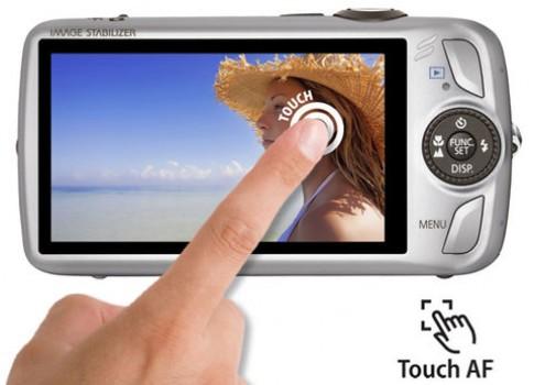 Camera nhỏ với zoom lớn và góc rộng