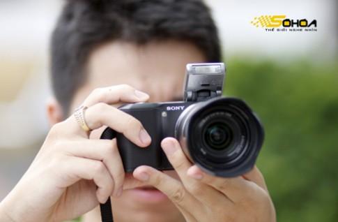 Camera 'siêu compact' NEX-3 của Sony