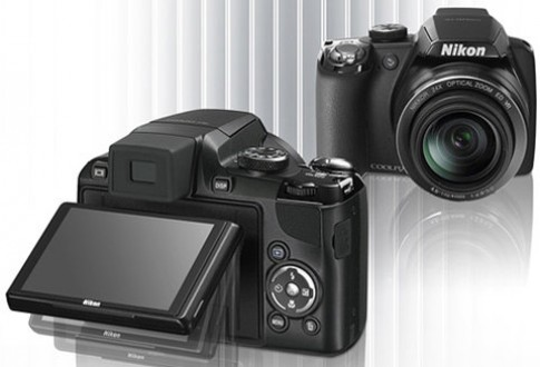 Camera với màn hình lật xoay