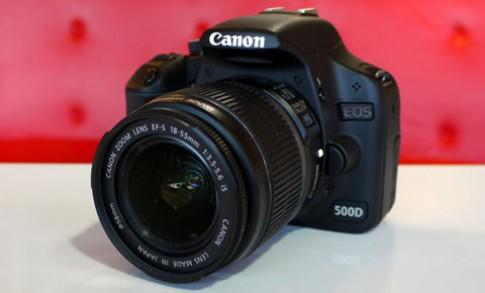Cận cảnh Canon EOS 500D