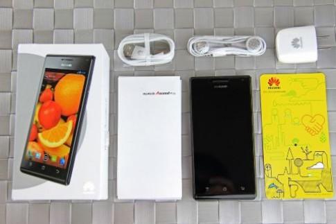 Cận cảnh Huawei Ascend P1 XL
