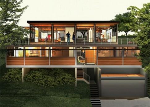 Căn nhà xanh trong mơ