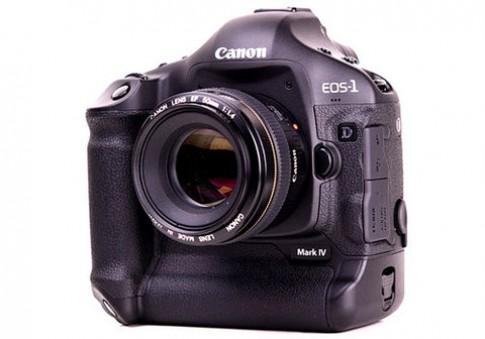 Canon 1D Mark IV sắp có firmware mới