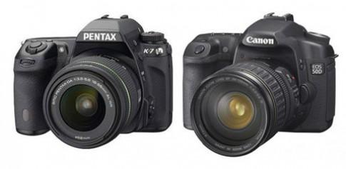 Canon 50D và Pentax K-7 đọ sức