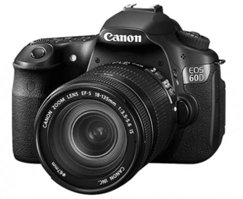 Canon 60D có thể sẽ mang cảm biến 18 Megapixel