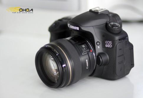 Canon 60D hàng xách tay giá 22,4 triệu