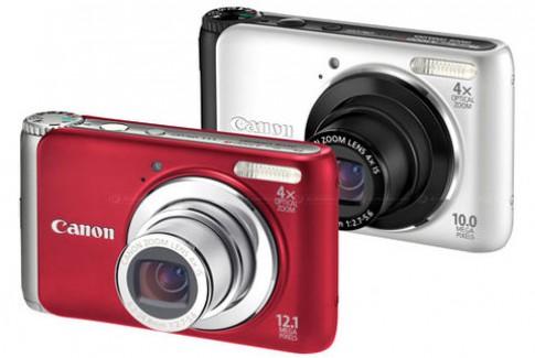 Canon A3000 IS và A3100 IS chung phong cách