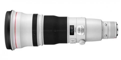 Canon bán ống 500 mm và 600 mm mới vào tháng 5