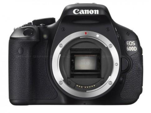 Canon bất ngờ ra mắt 600D và 1100D