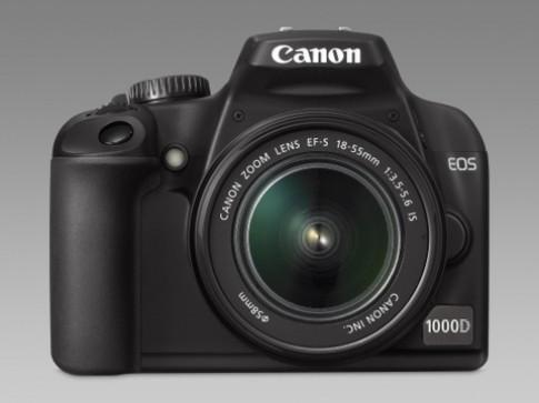 Canon cập nhập firmware cho EOS 1000D