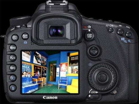 Canon cập nhật firmware cho EOS7D