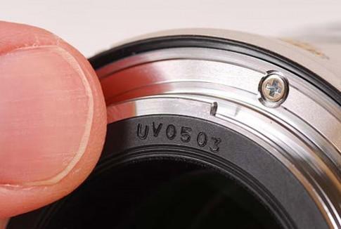 Canon có thể thay đổi cách đặt mã code trên ống kính