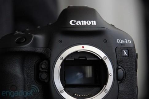 Canon EOS-1D X có thể kết thúc cuộc đua số 'chấm'
