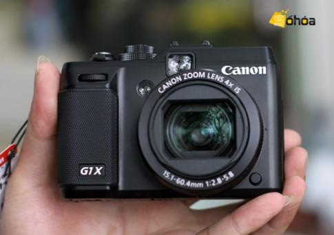 Canon G1 X giá 16,5 triệu ở VN
