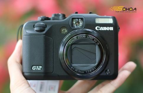 Canon G12 giá gần 11 triệu tại VN