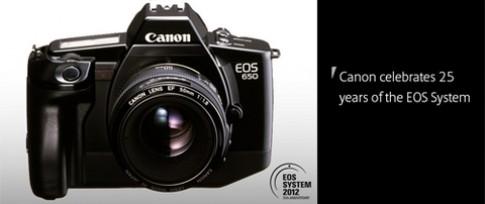 Canon kỷ niệm 25 năm ra mắt dòng EOS