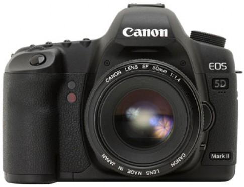 Canon lên tiếng về lỗi của 5D Mark II