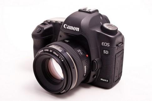 Canon nâng cấp firmware cho 5D Mark II