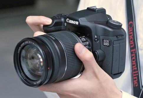 Canon nâng cấp firmware cho EOS 50D