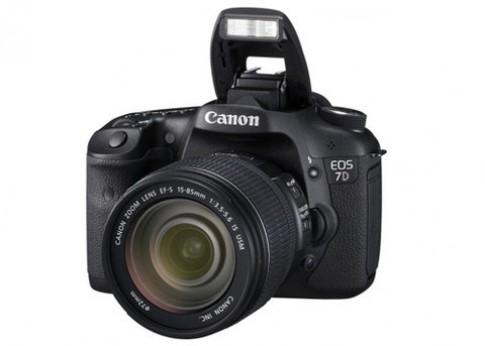 Canon nâng cấp firmware cho EOS 7D