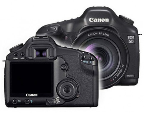 Canon phát triển firmware mới cho 5D Mark II