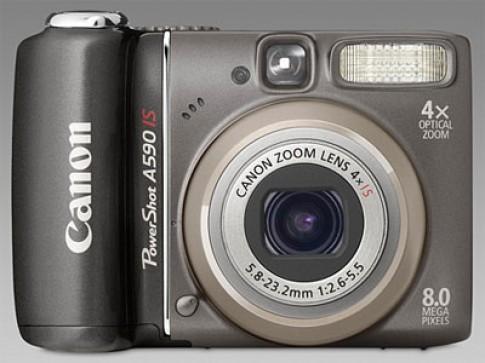 Canon PowerShot A590 IS giá rẻ, chất lượng cao