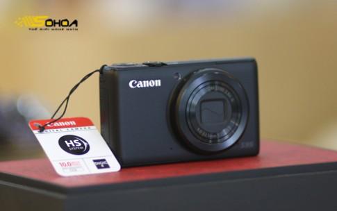 Canon PowerShot S95 về VN giá 8,8 triệu