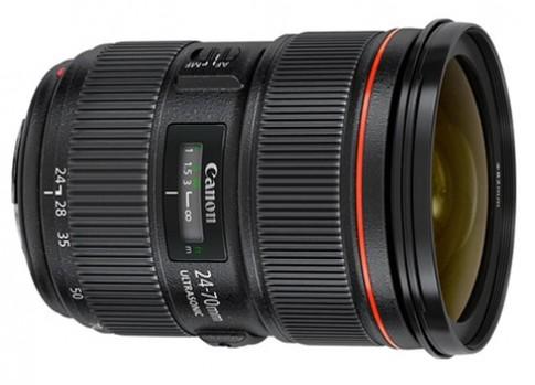 Canon ra 24-70mm F2.8 bản II và hai ống fix mới