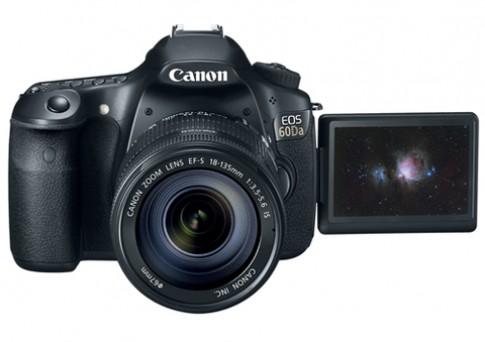 Canon ra 60Da cho nhiếp ảnh thiên văn