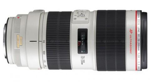 Canon ra mắt phiên bản II ống EF 70-200mm F2.8 L IS