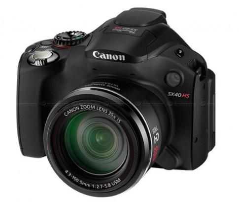Canon ra SX40 HS và S100 dùng chip Digic V