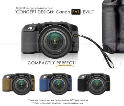 Canon sẽ có máy ảnh không gương lật năm sau