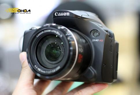 Canon SX40 HS dùng chip Digic V về VN