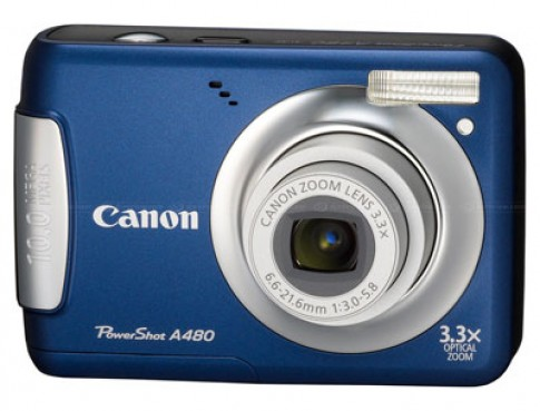 Canon thay thế PowerShot A470 bằng A480
