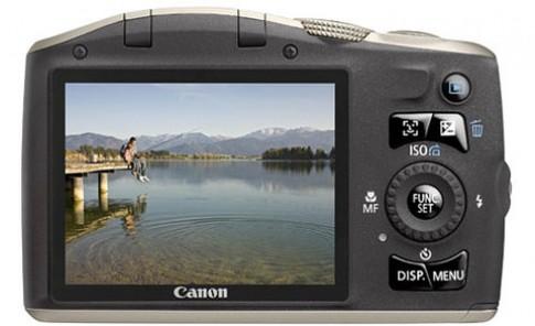 Canon 'vá' lỗi hình tiếng SX130 IS