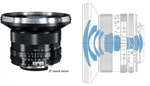 Carl Zeiss thêm ống cho Canon