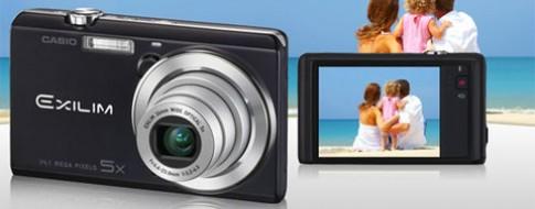 Casio ra mắt máy ảnh compact chạm để chụp