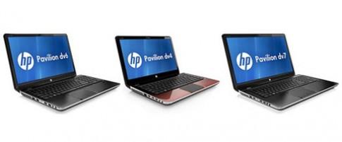 Cấu hình cho các laptop HP Pavilion mới