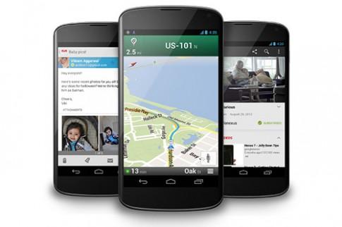 Cấu hình Nexus 4 vượt Galaxy S III, giá rẻ bằng một nửa