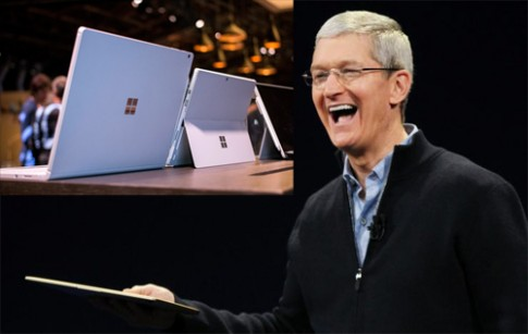 CEO Apple: Microsoft Surface Book là sự lừa dối