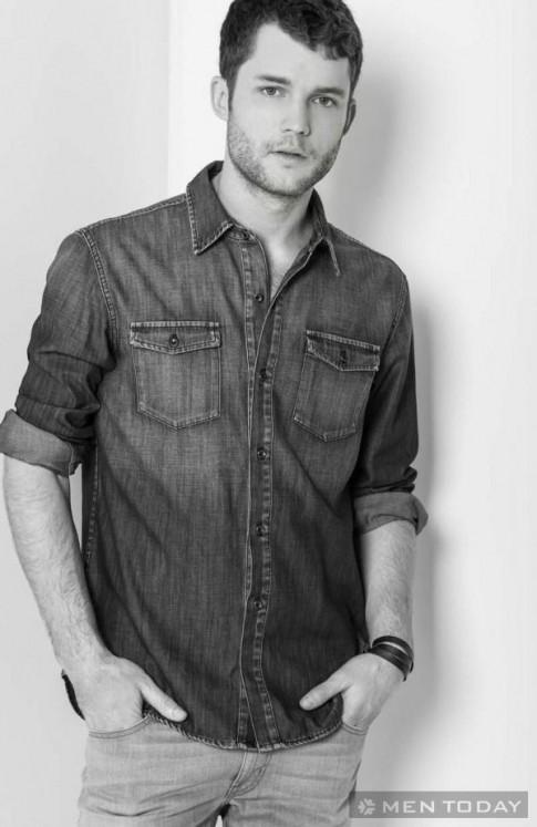 Chàng cá tính trong chiến dịch thời trang nam xuân/hè 2014 của Fidelity