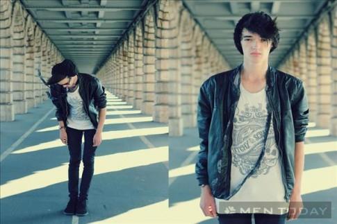 Chàng fashion blogger có gương mặt ấn tượng và style trẻ trung